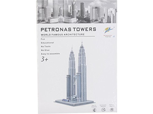 COLEPROFE 3D Puzzle Petronas Tower 86 Teile -