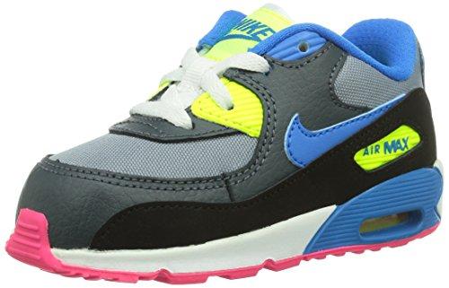 Nike Air Max 90(TD) Running Shoes, bebé-niños black Size: 6.5