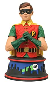 Diamond Select Buste Batman 1966 buste Robin 15 cm
