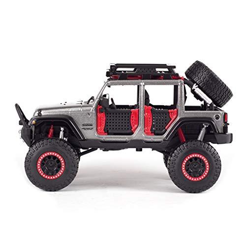 IVNGRI-Auto Model JEEP Wrangler im Maßstab 1:24 Hochdetailliertes Druckgussmodell, Automodellverzierung-Simulationslegierungs-Automodell-Geburtstagsgeschenk für Jungen (Kit Auto Nissan Model)