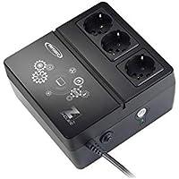 INFOSEC- Onduleur Z1 Zenergy Cube EX 400 VA, 3 prises secourues, Noir