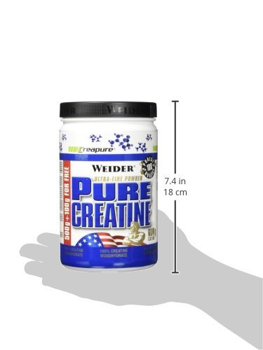 Weider, Pure Creatine, Neutral, 1er Pack (1x 600g) - 6