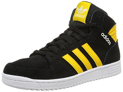 Adidas Pro Play 2 Scarpe sportive, Uomo, Multicolore (Core Black/Super Yellow F15/Ftwr White), Taglia 43.3