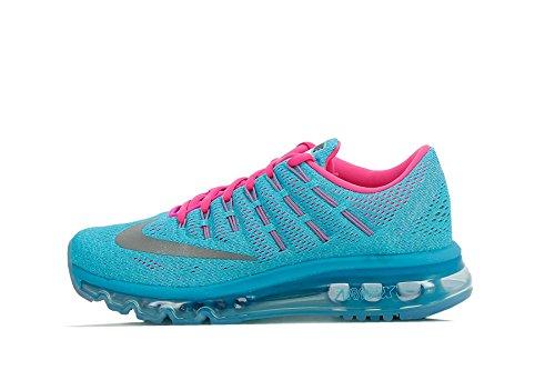Meilleur FR Nike Air Max 2016 (GS), Chaussures de Running Entrainement Fille, Bleu-Azul (Azul (Gmm Bl / Rflct Slvr-Blk-Ghst Grn), 37.5 EU