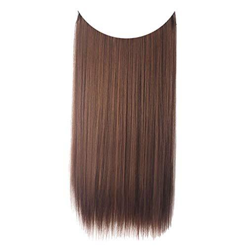 Beladla wigs - donna parrucca natural capelli lunghi ondulato ombre lace front synthetic hair wigs side part heat resistant half hand tied più stili e colori