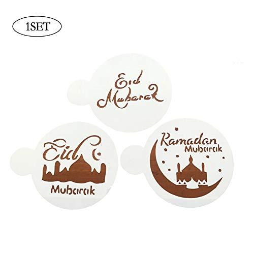 1 Satz Bakeware Backen Küchenzubehör Fondant Spray Muster DIY Fancy Kaffee Pull-Blumen-Drucken Mold Handgemalte