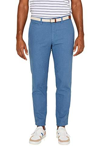 ESPRIT Herren 039EE2B004 Hose, Blau (Blue 430), W34/L34(Herstellergröße: 34/34)
