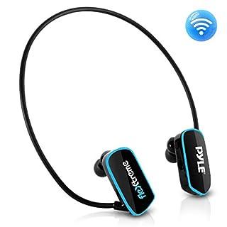 Pyle Flextreme étanche Sports Headset lecteur de musique MP3Portable qui 8Go Underwater Natation Jogging Marche Gym Écouteurs intra-auriculaires confortable souple casque USB Connexion