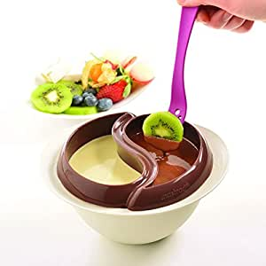Mastrad F47921 Set de Fondue au Chocolate Minute