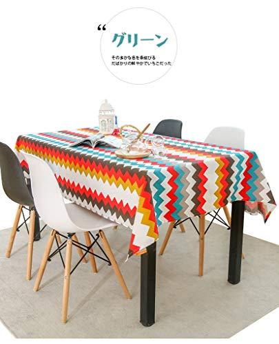 WSGZH Nappe en Polyester Uni Vintage Rectangulaire 90 * 90CM - 120 * 180CM Drap Lavable De Table De Pique-Nique (Taille : 110 * 170CM)