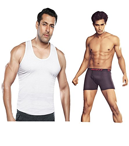 Dixcy Scott 1-Pc Vest 1-Pc Cross Trunk Combo Offer (Size :80 CM)  available at amazon for Rs.190