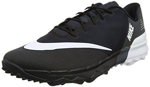 Nike Fi Flex, Chaussures de Golf Homme, Noir (Black/White/Anthracite), 43 EU