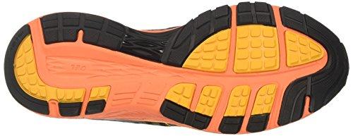 Asics Dynaflyte, Scarpe Running Uomo Multicolore (Carbon/black/citrus)