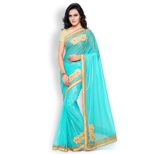 Shree Other Saree With Blouse Piece(new-02_Blue_Medium)