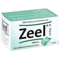 Zeel comp. N, 250 St. Tabletten preisvergleich bei billige-tabletten.eu