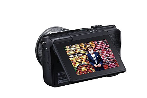 Canon EOS M10 con objetivo EF 15-45 mm