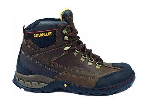 Cat Footwear - Dynamite Wp S1P, Stivali  da uomo Marrone (Brown)