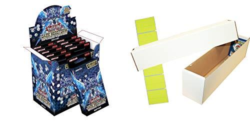 Unbekannt YGO Dark Neostorm - 10 Special Editions (1 Display) + Riesen Deck Box für ca. 1000 Karten - Deutsch -
