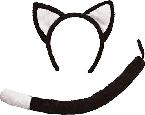 Black Cat Kostüme Kind (CAT SET BLACK)