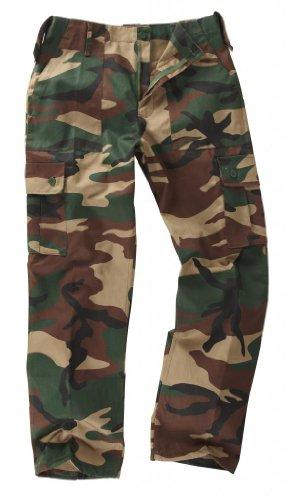 jeunes-enfants-pantalon-militaire-de-combat-cargo-camouflage-13-14-ans-camouflage-woodland-bois