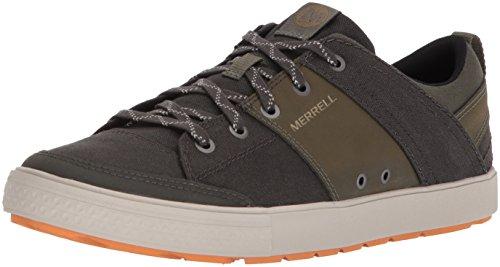 Merrell Rant Discovery Lace Canvas, Sneaker Uomo, Verde (Beluga), 42 EU