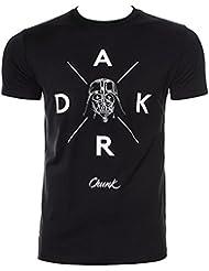 Camiseta de manga corta Chunk Clothing de Vader Star Wars (Negro)