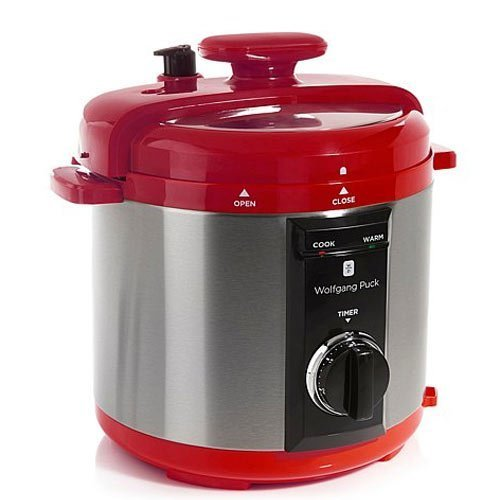 Wolfgang Puck Automatic 8-quart Rapid Pressure Cooker Red by Wolfgang Puck