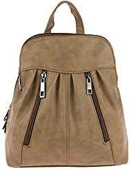 JJ Collection - Bolso mochila  para mujer 26x28x10 cm (BxHxT)