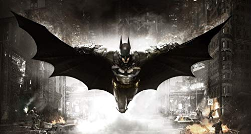 Batman-Comic-Illustration, Holzpuzzle, Dark Knight Film Filmplakat, Perfect Cut & Fit, 500/1000 Stück Boxed Fotografie Spielzeug Spiel Kunst Malerei für Erwachsene & Kinder ( größe : 1500pc )