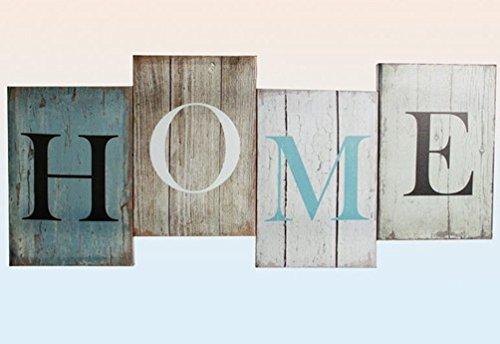 Preisvergleich Produktbild Bild Home türkis/braun