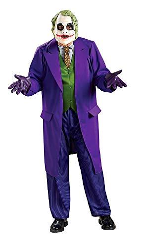 R888632-XL lila Herren The Joker Halloweenkostüm Joker Anzug - Für Erwachsene Fledermaus Anzug Und Krawatte Kostüm