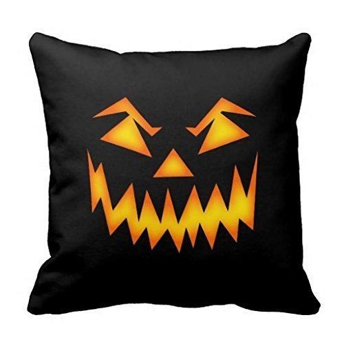 ge Pumpkin Head Halloween Y:025 Cotton Throw Square Pillow Case Cushion in 45*45CM ()