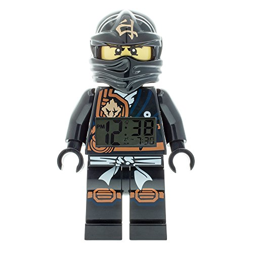 LEGO – Despertador Ninjago Jungle Cole 'Lego' – negro – niño