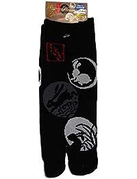Japonmania - Chaussettes japonaises tabi - Du 39 au 43 - Usagi Kamon