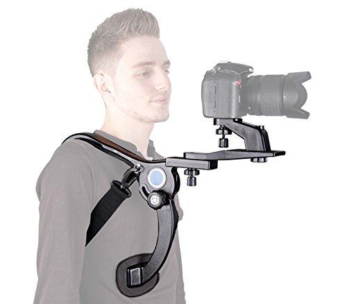 -Schulterstativ Schulterstütze für DSLR Kameras und Camcorder ()
