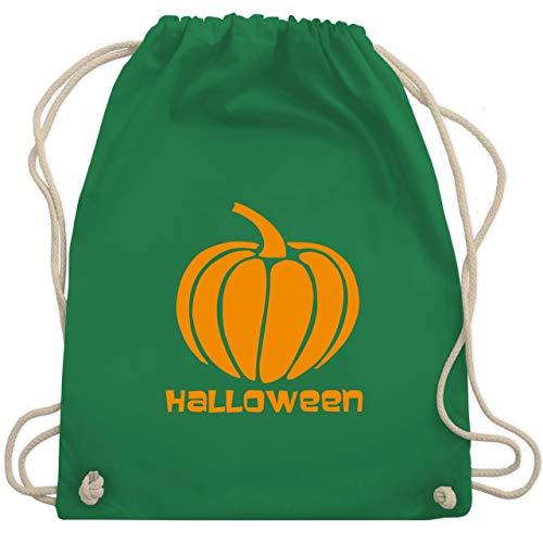 Halloween - Kürbis - Unisize - Grün - WM110 - Turnbeutel & Gym Bag (Frühjahr Saison Kostüm)