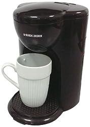 Black & Decker DCM25-IN 330-Watt 1-Cup Coffee Maker