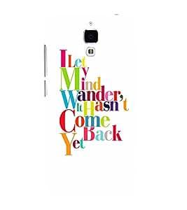 EPICCASE Mind Wanderer Mobile Back Case Cover For Xiaomi Mi4 (Designer Case)