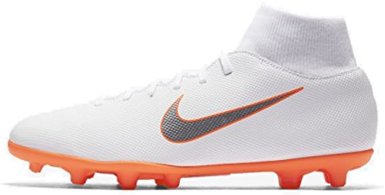 Nike Unisex Erwachsene Superfly 6 Club Fg/Mg Fußballschuhe  Black Total Orange