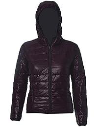 FEITONG Las mujeres del color del caramelo caliente del invierno Delgada Slim Down Abrigo capa de la chaqueta