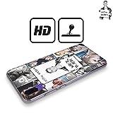 Head Case Designs Officiel Justin Bieber Affiche De Grille Objectif Coque Dure pour l'arrière Compatible avec Huawei Y5 (2019)