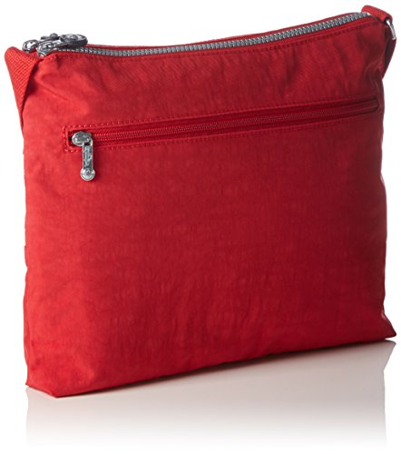 Kipling Alvar, Borsa a Tracolla Donna Rosso (REF35J Vibrant Red)