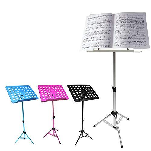 WENHU Faltbare Notenständer Aluminium Musikinstrument Spektrale Gitarre
