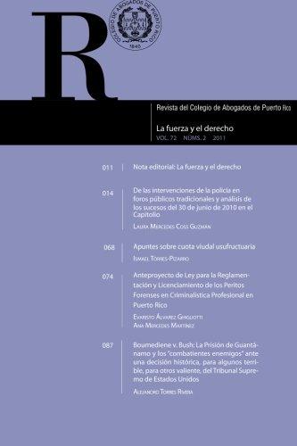 Revista del Colegio de Abogados de Puerto Rico: Vol. 72 Num. 2