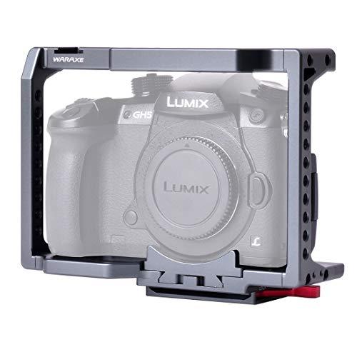 Shuo lan Accessori Stabilizzatore a Gabbia Video Compatibile Panasonic Lumix GH4 / GH5 / GH5S