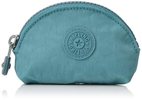 Kipling Damen Baroe S Münzbörse, Blau (Aqua Frost), 11.5x7x3 cm -