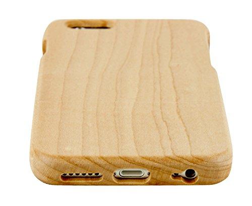 SunSmart iPhone 6 Plus 5.5'' Case Manuel Bois Protective Hard Back Case Cover pour Apple iPhone 6 plus 5.5'' ?palissandre? érable