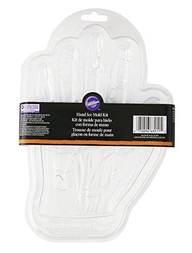 Wilton Eiswürfelform, Motiv: Monster-Hand, Transparent