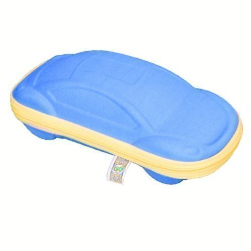 Baby Banz Sunglass Case - Blue Car - Car - Blue