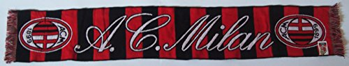 A.C. Milan Schal Offizielle Scarf Bufanda Official, R/N mod. - Ac Milan-bekleidung